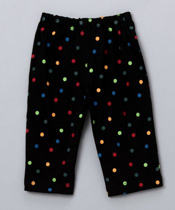Black Dot Pants - Infant