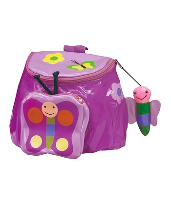 Purple Butterfly Backpack