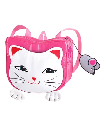 Pink Kitty Backpack