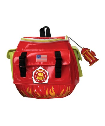 Red 'Fire Chief' Backpack