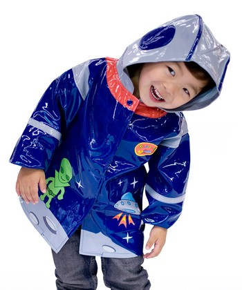 Blue Space Hero Raincoat - Infant, Toddler & Kids
