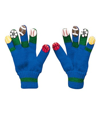 Blue Sports Gloves
