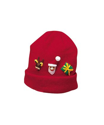 Red Christmas Beanie