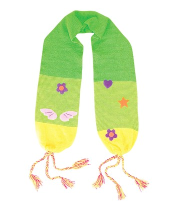 Green Fairy Scarf