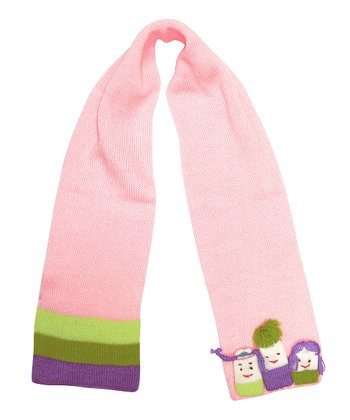 Pink Girlfriends Scarf