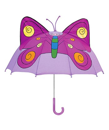 Lavender Butterfly Umbrella