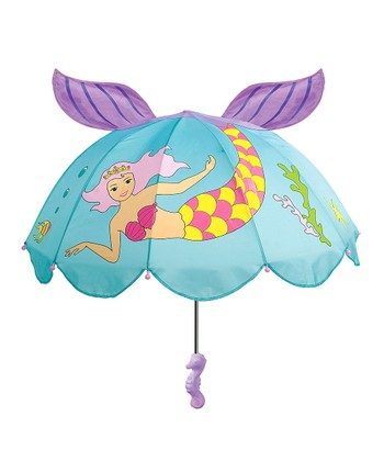 Aqua Mermaid Umbrella