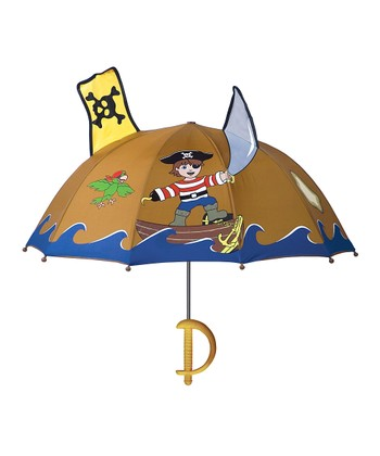 Brown Pirate Umbrella