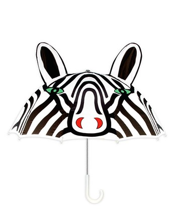 Black & White Zebra Umbrella