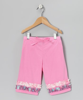 Pink Ruffle Pants - Toddler