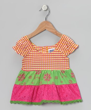 Fresh Fruit Stripe Tiered Top - Infant, Toddler & Girls