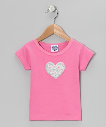 Pink Heart Tee - Toddler & Girls