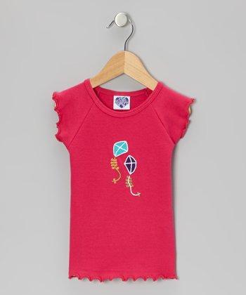 Dark Pink Kite Tommie Tank - Infant, Toddler & Girls