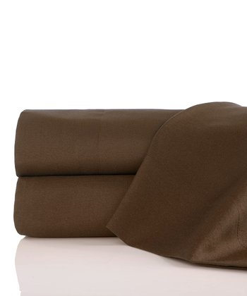 Chocolate Twin XL Neebo Sheet Set