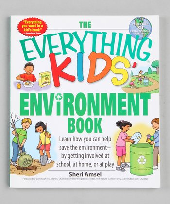 The Everything Kids' Environment Book Paperback