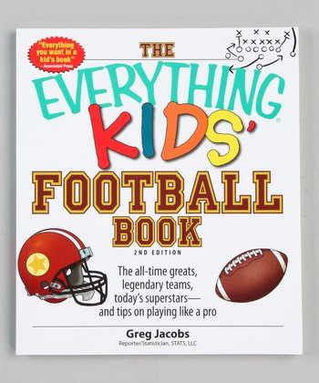 The Everything Kids' Football Book Paperback