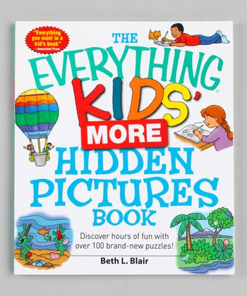The Everything Kids' More Hidden Pictures Book Paperback