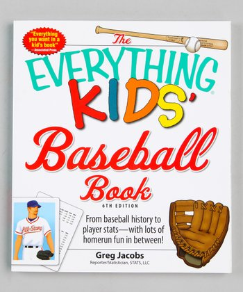 The Everything Kids' Baseball Book Paperback