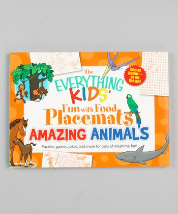 Everything Kids' Fun With Food: Animals Place Mats