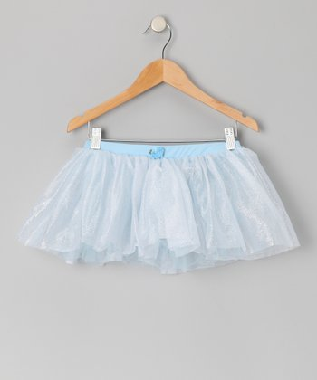 Blue Shimmer Tutu - Toddler & Girls