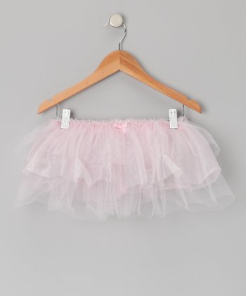 Pink Shimmer Tier Tutu - Toddler & Girls