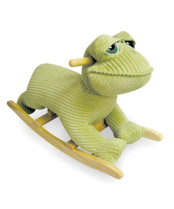 Fritz the Frog Toddler Rocker