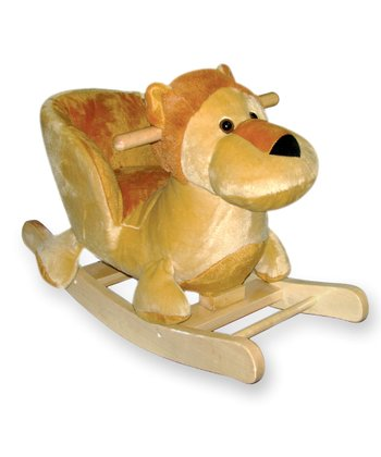 Lion Carriage Seat Rocker