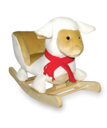 Sheep Carriage Seat Rocker
