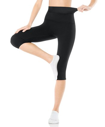 Power Knee Capri Pants - Black
