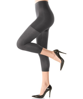 Footless Tight-End Tights - Charcoal
