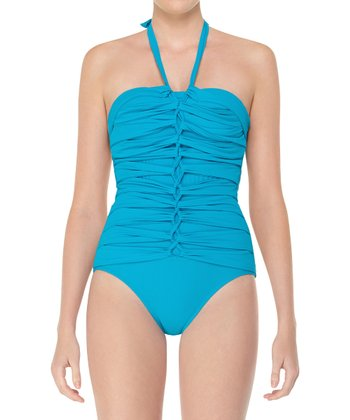Braided Core One-Piece - Aquamarine