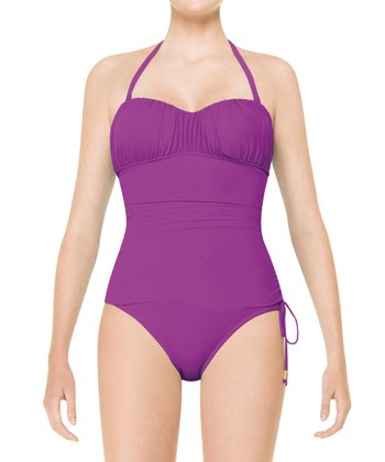 Sultry Sweetheart One-Piece - Passion Fruit Purple