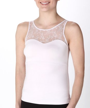 Hide & Sleek® Lace Bateau Cami Plus - Frosted Lilac