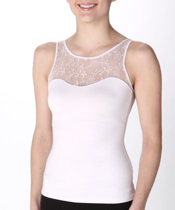 Hide & Sleek® Lace Bateau Cami - Frosted Lilac