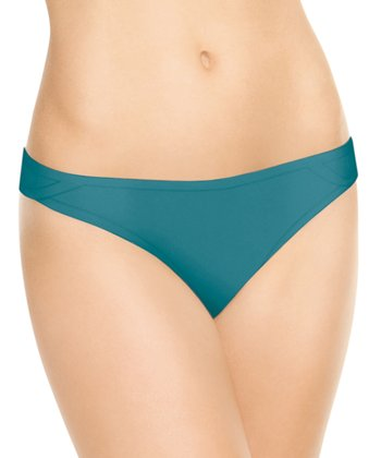 But…Naked Thong - Really Teal