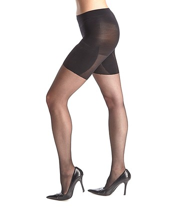 SPANX® Thigh'm a Believer Pantyhose - Black