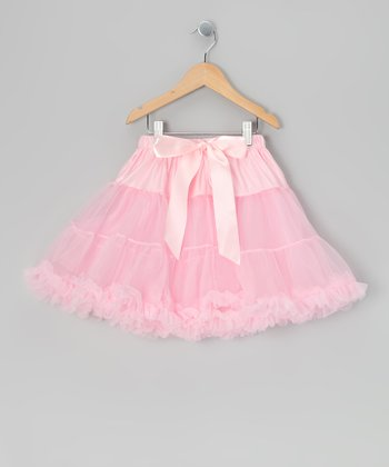 Light Pink Mini Pettiskirt - Infant, Toddler & Girls
