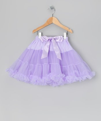 Lavender Mini Pettiskirt - Infant, Toddler & Girls