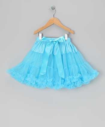 Turquoise Mini Pettiskirt - Infant, Toddler & Girls