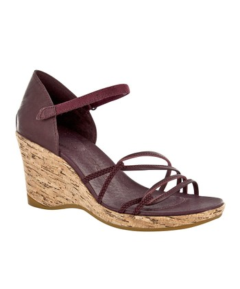Decadent Chocolate Riviera Wedge Sandal