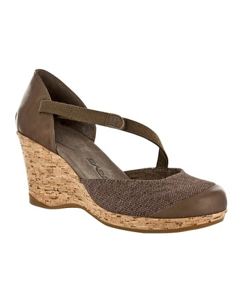 Brown Riviera Wedge