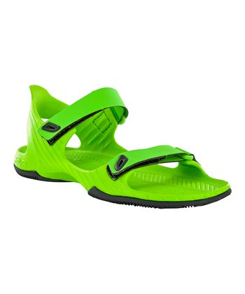 Green Barracuda Sandal - Kids