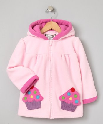 Pale Pink Cupcake Coat - Infant, Toddler & Girls