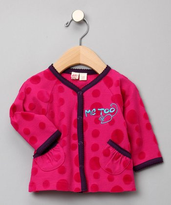 Me Too Polka Dot Cardigan - Infant