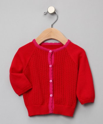 Trine Knit Cardigan - Infant