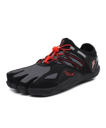 Castlerock & Poppy Red Skele-Toes Bay Runner Shoe - Men