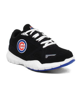 Black Chicago Cubs Sneaker