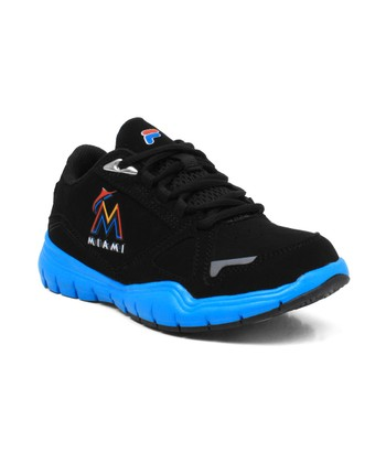 Black Miami Marlins Sneaker