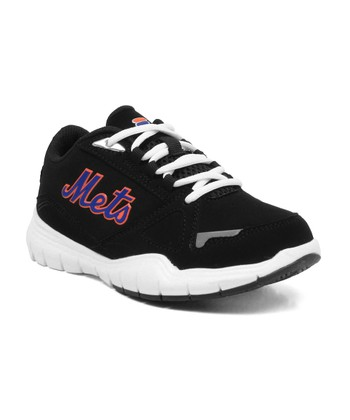 Black New York Mets Sneaker