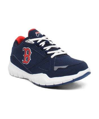 Navy Boston Red Sox High Rise Sneaker
